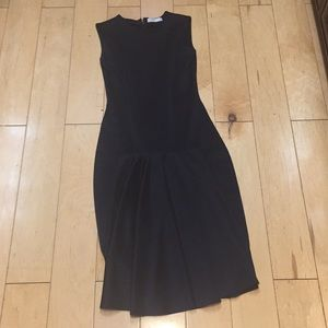 Zara Navy blue midi dress M or 28